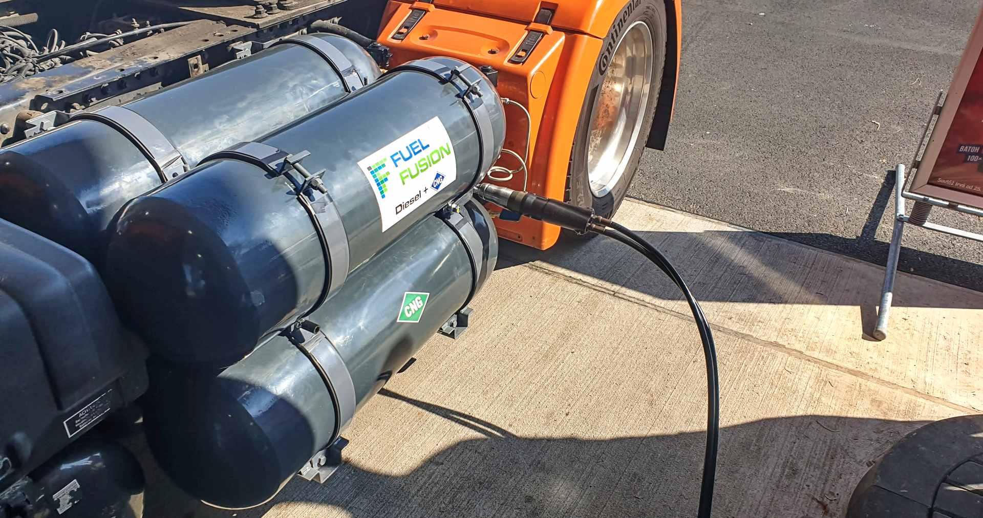 Diesel CNG duální pohony dieselů -profesionální přestavby diesel+CNG