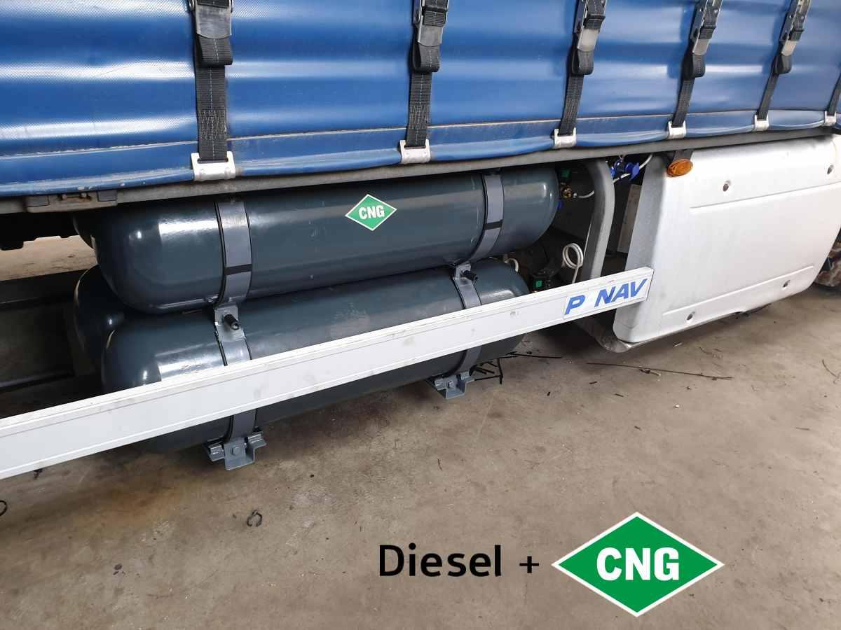 DAF XF 460 Euro 6 Tandem nádrže CNG 320litrů