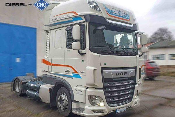 DAF XF 480 Diesel CNG duální pohon nafta a CNG