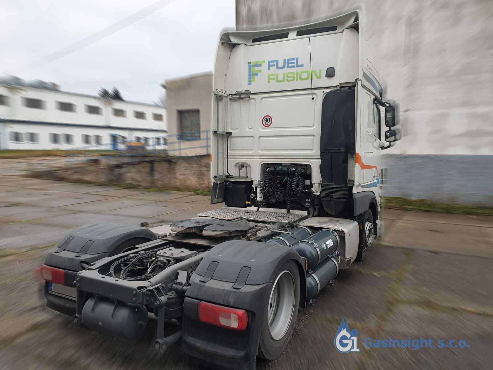 DAF XF480 FT Diesel CNG tahač r.v.2019