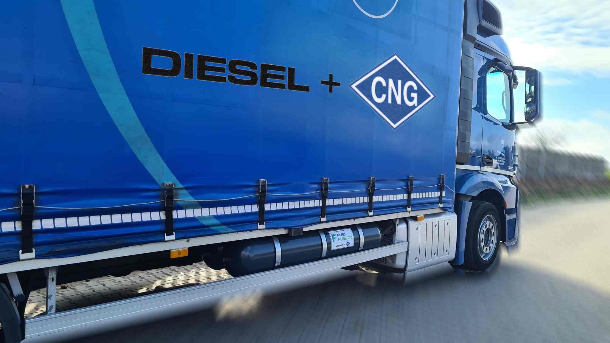 Mercedes Actros 1830L Euro 6 valník Diesel CNG s nádržemi CNG 2x155litrů
