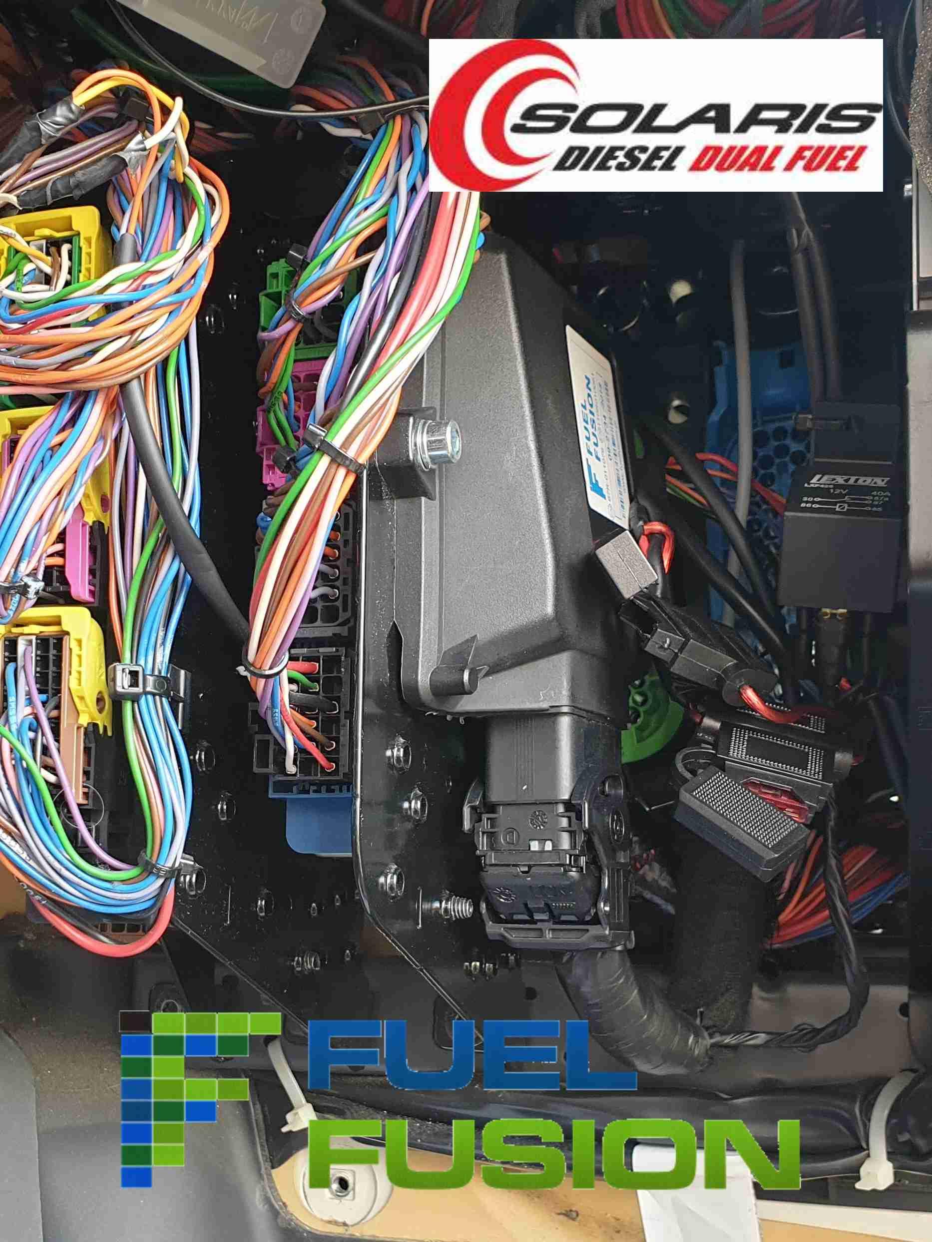 Solaris Diesel CNG typové schválení systému pro duální pohon dieselů na CNG a naftu
